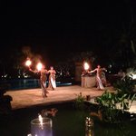 Traditional dance at Soku Saturday night