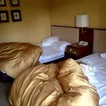 Bedroom after sleeping
