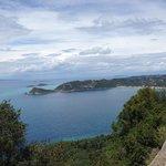 View of the Bay of Agios Georgios