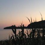 Sunset viewed from Costas Golden Beach