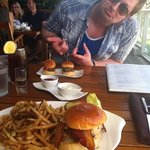 best burger ever. husband was a little dissapointed by size of wagyu sliders!