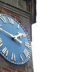 Clock on top of the Gatehouse
