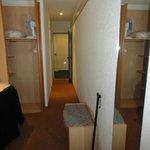 Le couloir de la chambre -