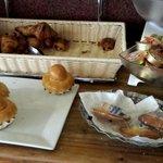 Buffet petit déjeuner viennoiseries