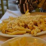 patatine con formaggio