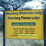 Eingang Waterberg-Wilderness