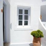 Doorway to our room