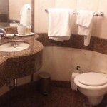 Tiny bathroom!