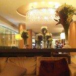 the luxury lobby