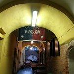 Вход через арку
