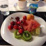 Завтрак)