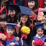 Senior graduates from the university