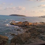 View from the Rock Pool Restaurant