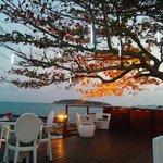 Sunset at Rock Pool Restaurant