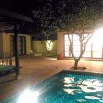 Nighttime in Villa 14