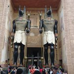 Entrance to the Mummy ride