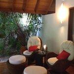cosy area veranda at The Residence