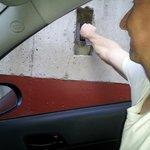 To open the underground car park