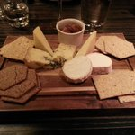Cheese board - biscuits are too strongly flavoured