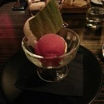 Ice cream & sorbet - probably shop bought