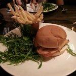 Chicken burger - very tasty
