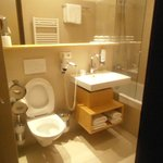view of toilet at room