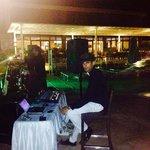 Live müzik in pool bar & Dj.Zein :)