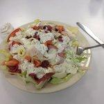 Yummy salad! So filling!