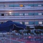 отель изнутри бассейн