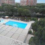 swiming pool area of hotel
