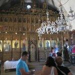 Apostolos Andreas Manastırı kilisesi içi