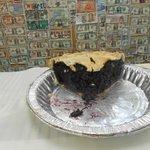 Homemade Maine Blueberry pie