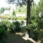 Chambre sans balcon côté jardin