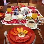 Desayunos diferentes todos los dias!!!