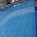 lo mejor del hotel, la alberca o piscina como le llamen, es climatizada.