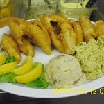 our famous yellow perch