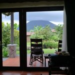 rooms with view on the volcano