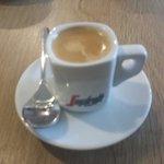 Espresso macchiatto. Smooth and bold :-)