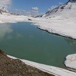 paesaggio lago bianco