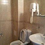 clear bathroom