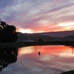 Sunset at Main Farm Dam