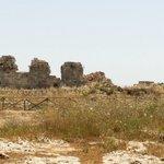 Vista dei ruderi del Castello Eurialo