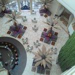 Lobby center bar