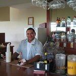 The golf zone's bar