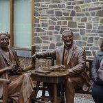 Franklin And Eleanor Roosevelt Sculpture