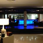 Lobby Bar with terrace and small outdoor pool