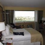 Zimmer mit Blick zum Hafen