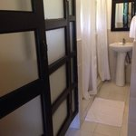 """2 toilet and 2 shower area in """"Pamilya"""" room"""