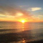 восход солнца в 4-45 утра