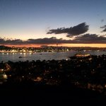 Looking out over Auckland city, amazing